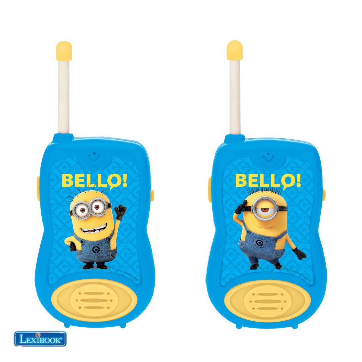 Talkie walkie LEXIBOOK TW12 Despicable Me - Les Minions (photo)