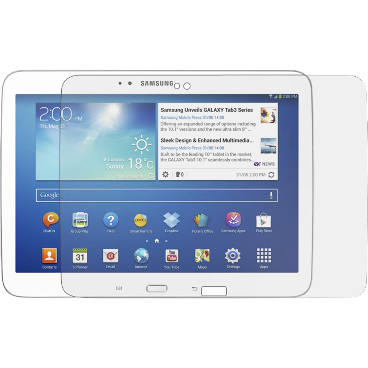 Protège écran ESSENTIELB Galaxy Tab 3 10