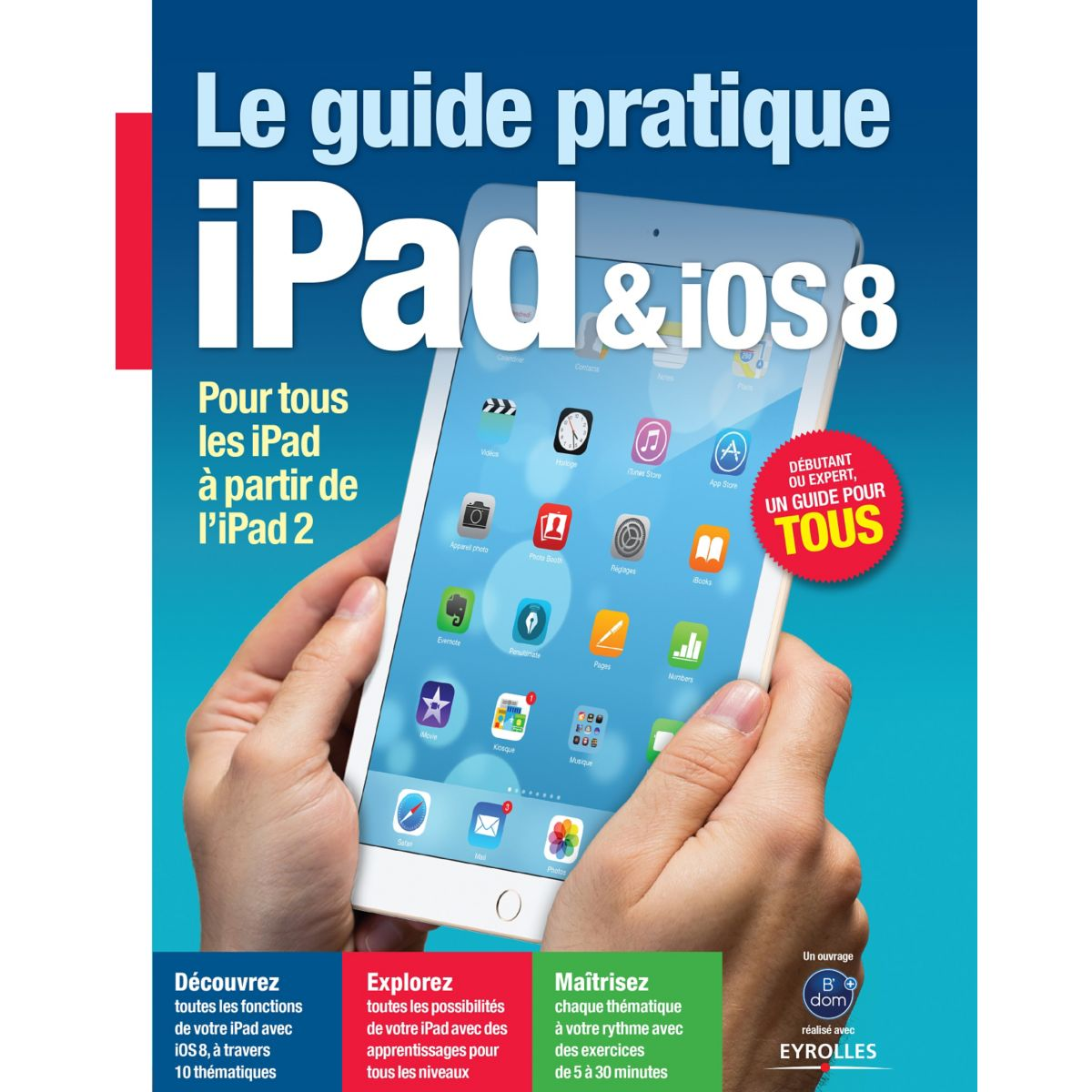 Librairie informatique BDOM+ L'univers Tablette iPad (photo)