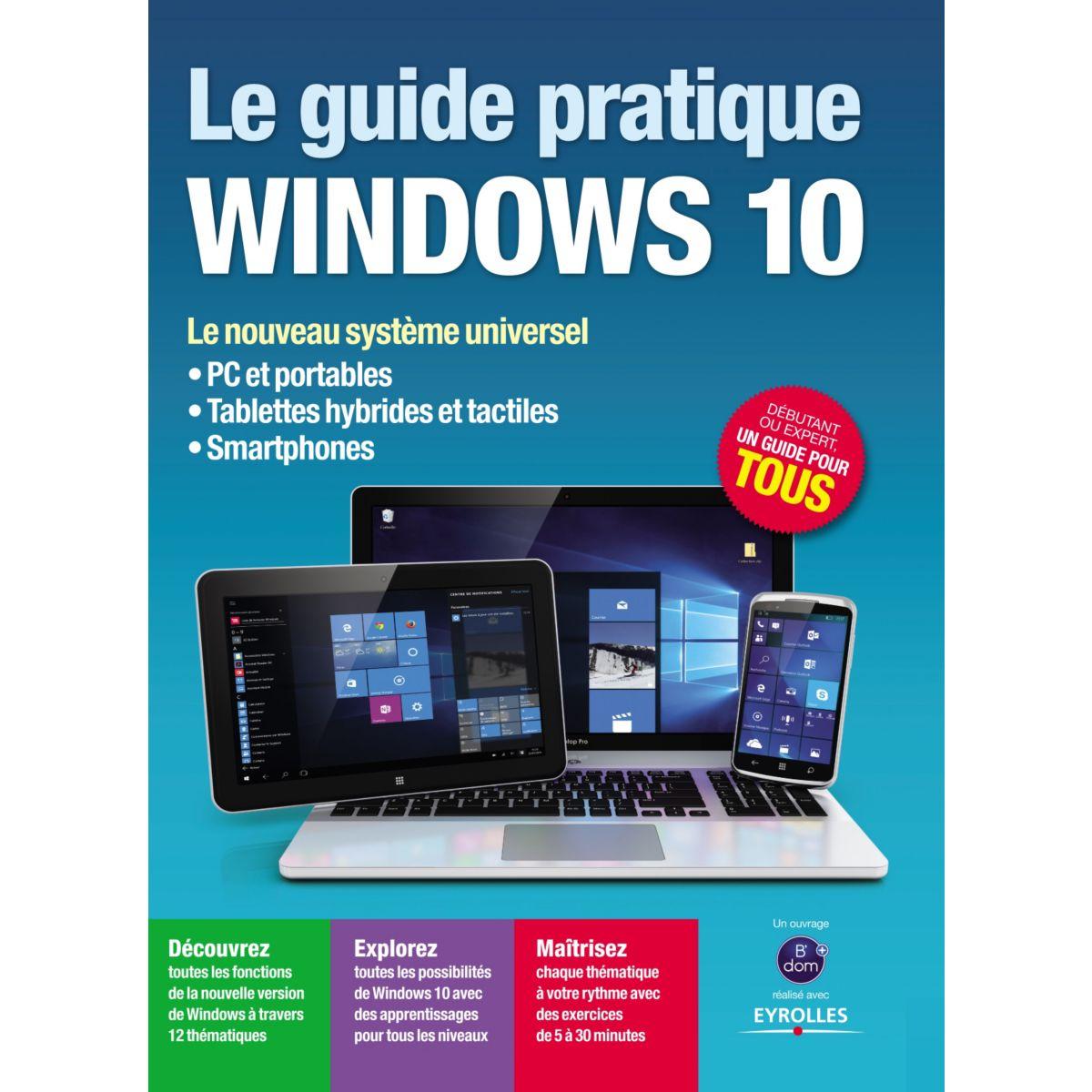 Livre BDOM+ L'univers Ordi Windows 10 (photo)