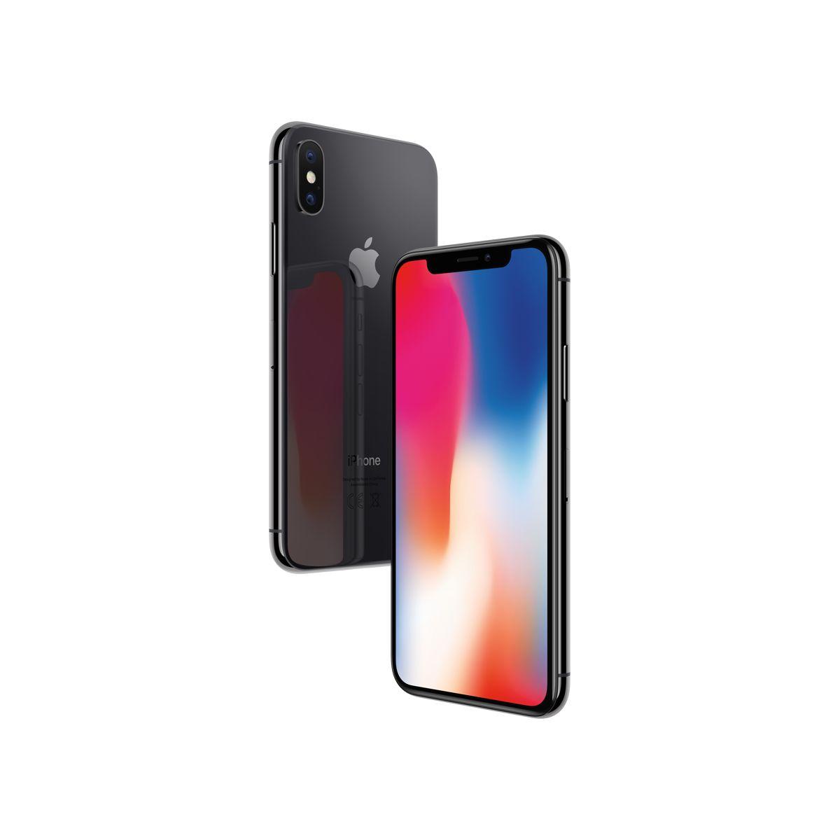 Smartphone APPLE iPhone X Gris Sidéral 256 GO