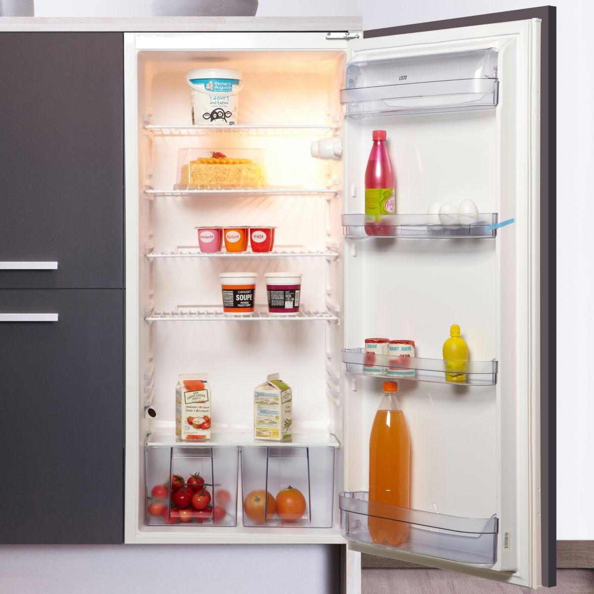 Réfrigérateur 1 porte encastrable LISTO RLIL 202