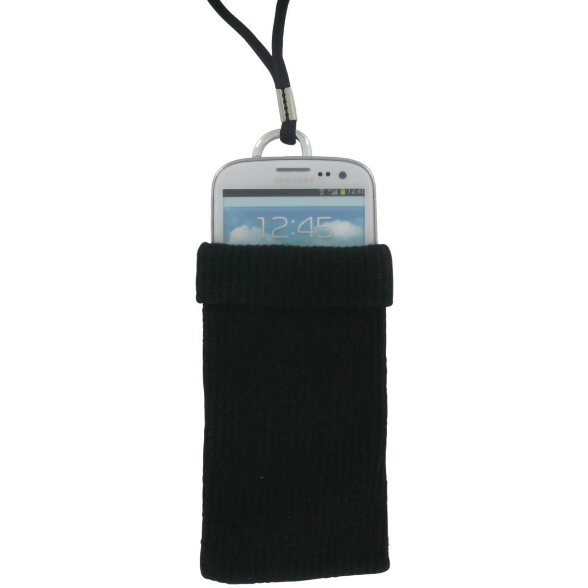 Chaussette LISTO noire Taille XL (photo)