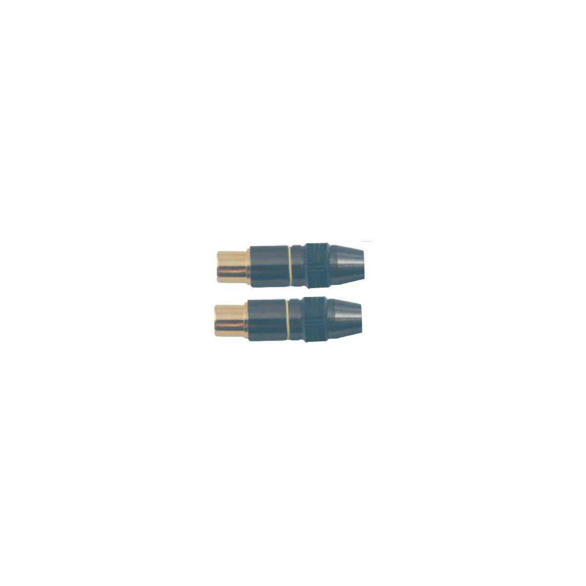 Fiche SC 9,52 Mâle *2 métal (photo)