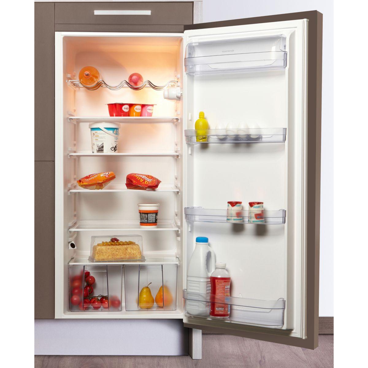 Réfrigérateur 1 porte encastrable ESSENTIELB ERLI 202