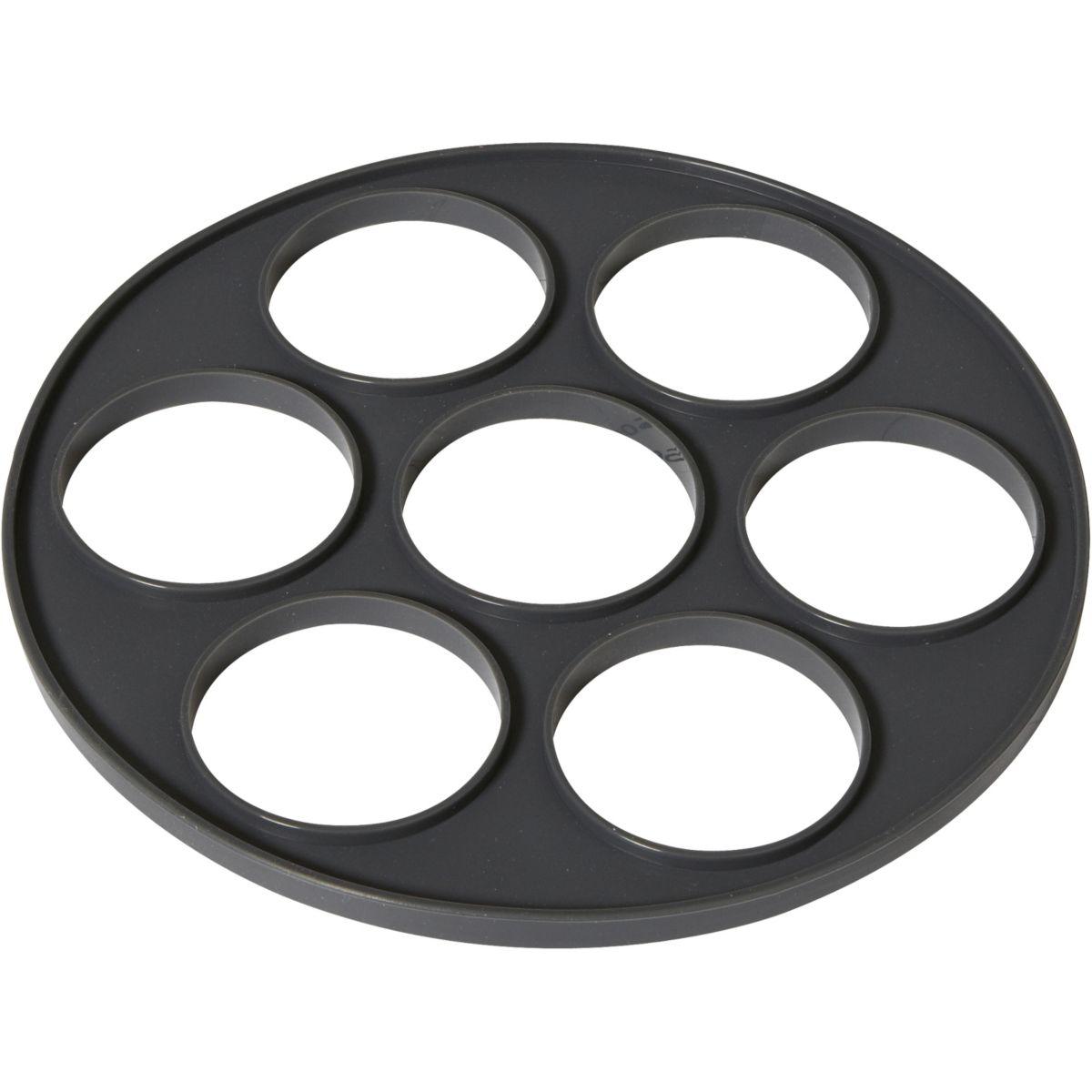 Moule en silicone ESSENTIELB à blinis 7 empreintes (photo)