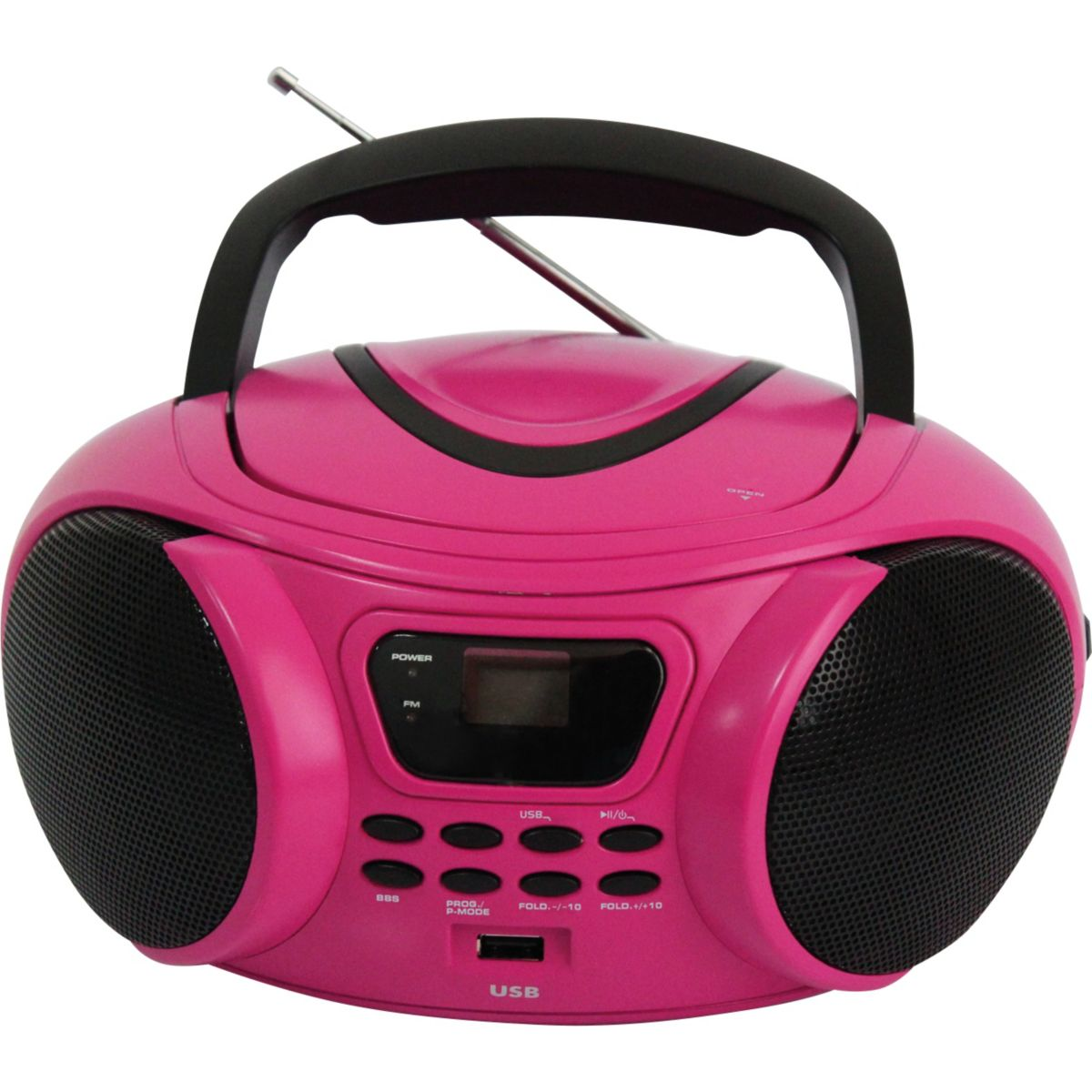 Radio CD ESSENTIELB Rumba USB MP3 Rose