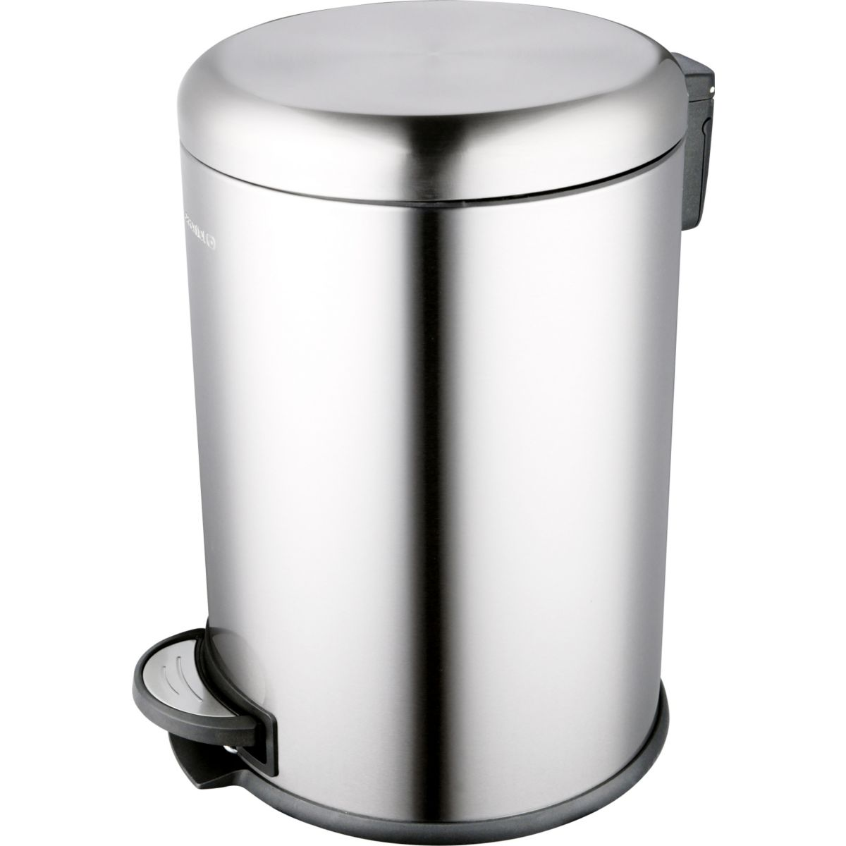 Poubelle ESSENTIELB ronde 20L Inox à péd (photo)