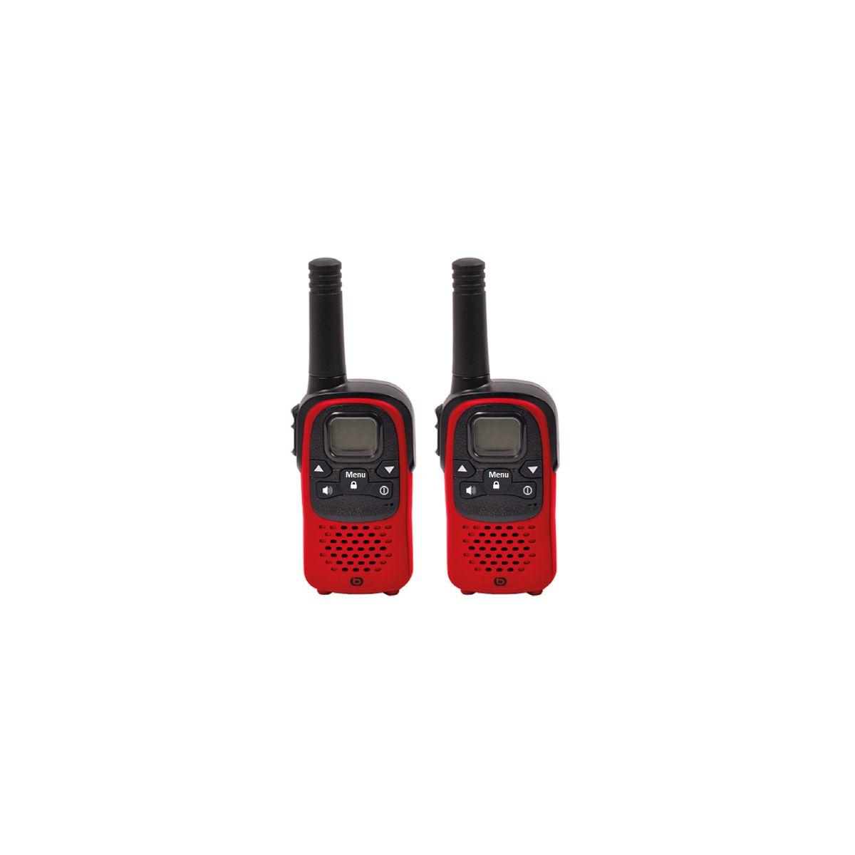Talkie walkie ESSENTIELB TALK & WALK Rouge (photo)
