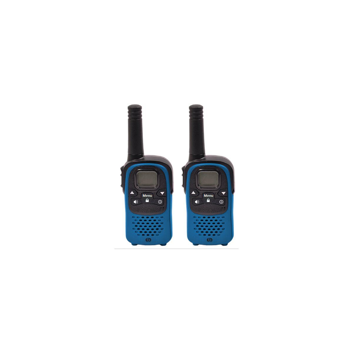 Talkie walkie ESSENTIELB TALK & WALK Bleu (photo)