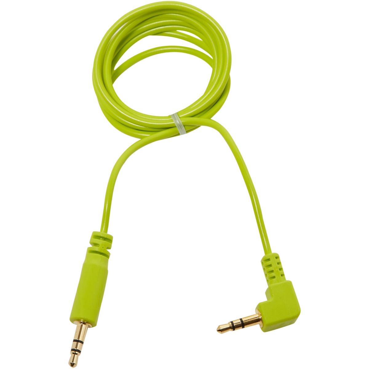 Câble Jack OGLO# Jack 3,5 mm Vert