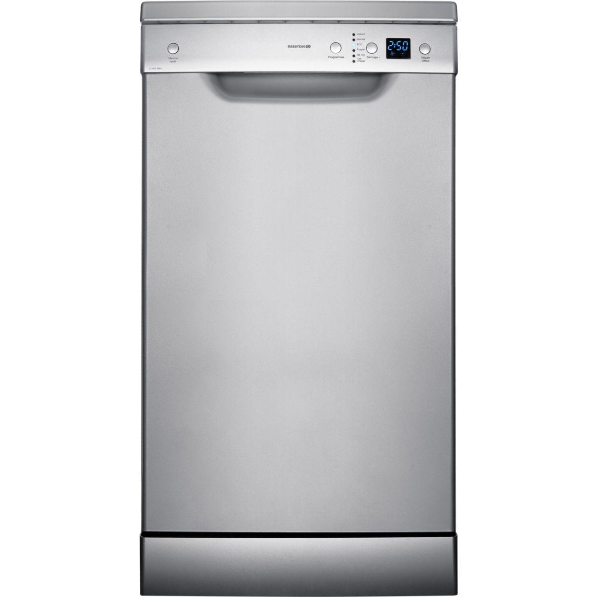 Lave-vaisselle 45cm ESSENTIEL B ELVS3-458s (Silver) (photo)