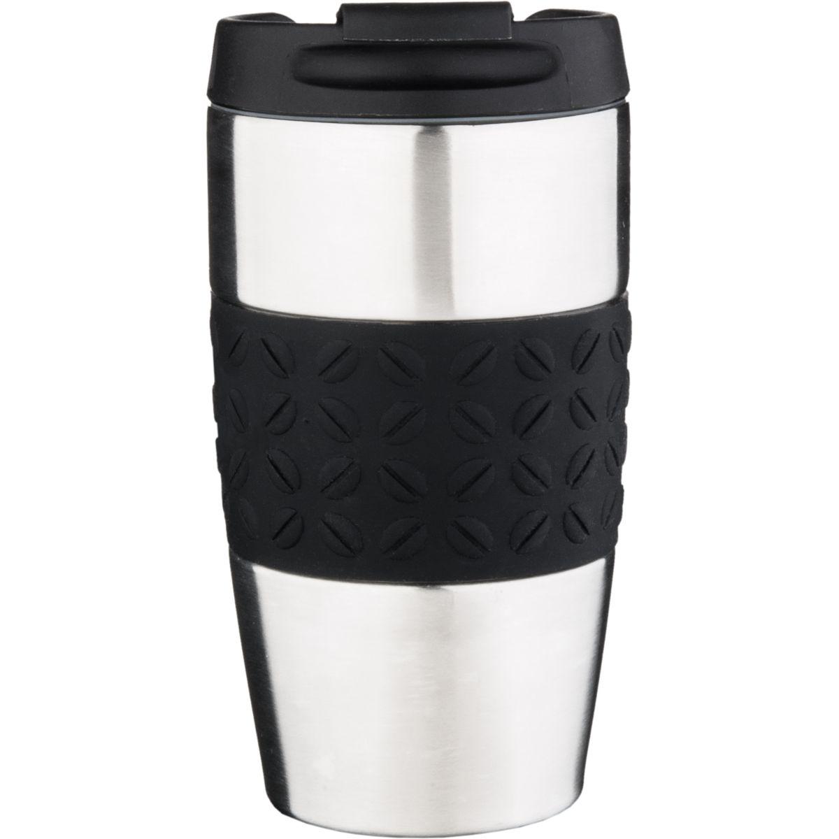 Mug isotherme ESSENTIELB Isotherme noir 0.40L