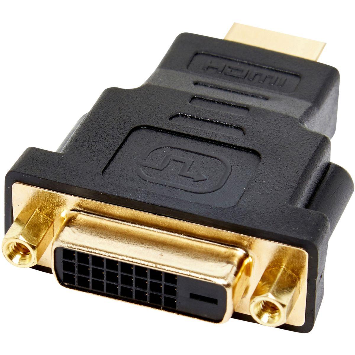 Adaptateur HDMI ESSENTIELB DVI / HDMI (photo)
