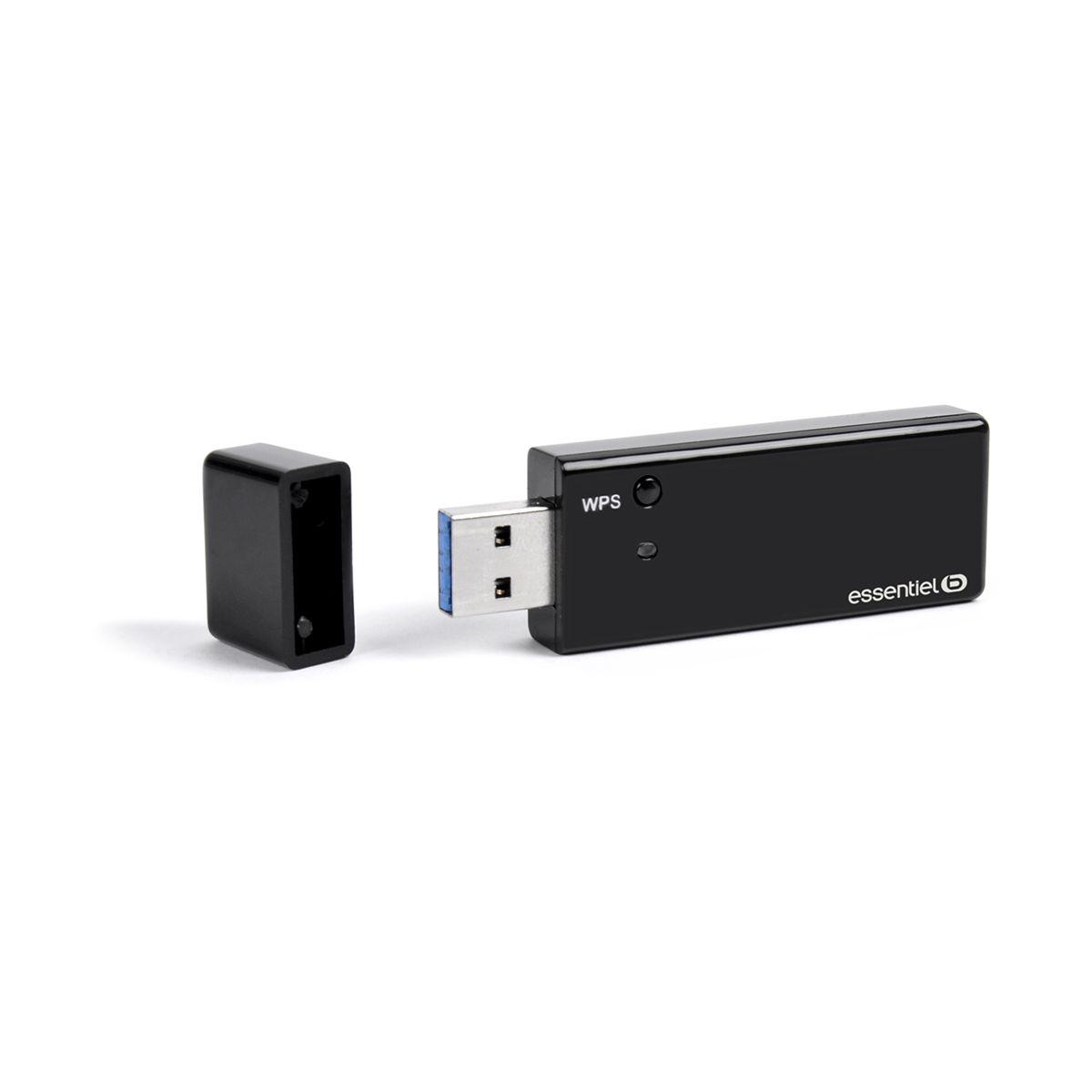 Clé USB Wi-Fi ESSENTIELB Wifi AC 1200 USB 3.0
