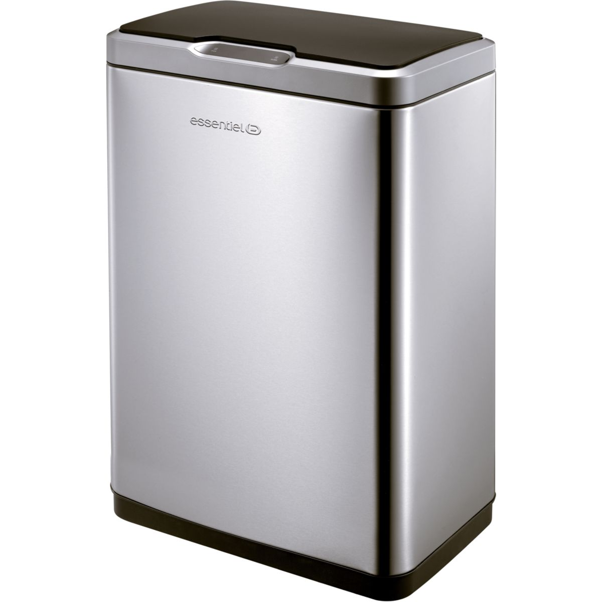Poubelle ESSENTIELB automatique 45L Inox (photo)