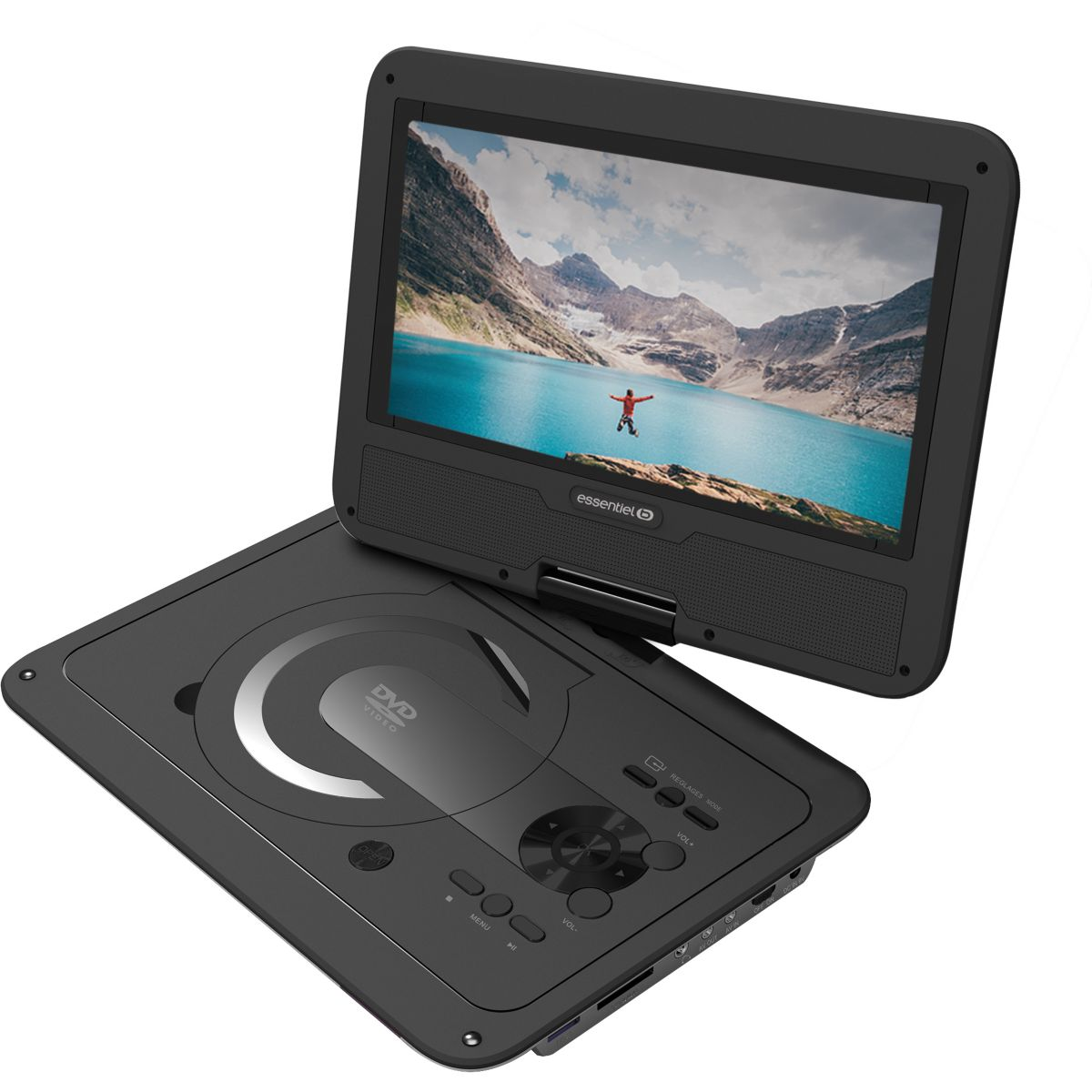 DVD Portable ESSENTIELB Simple 10 pouces (photo)
