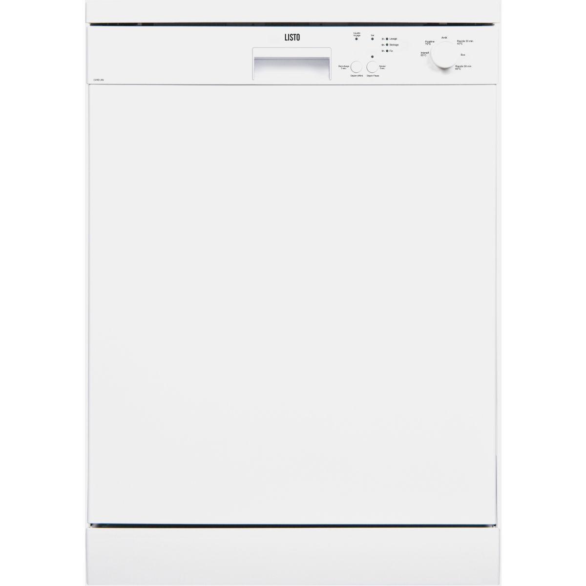 Lave-vaisselle 60cm LISTO LV49 L4b (photo)