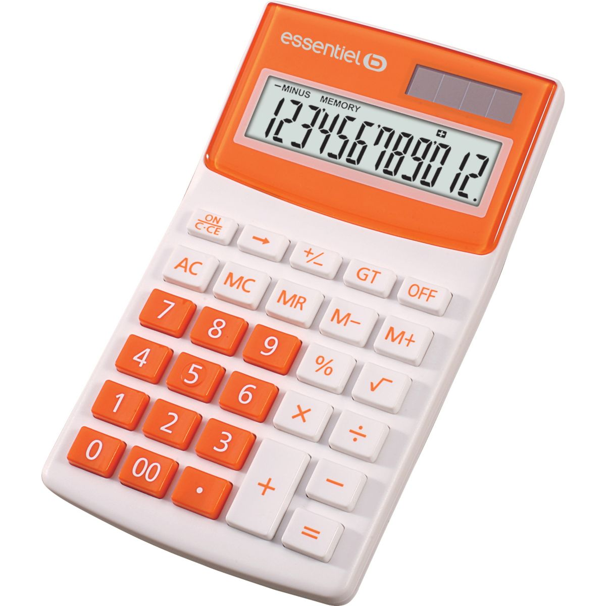 Calculatrice standard ESSENTIELB EC-8 Orange (photo)