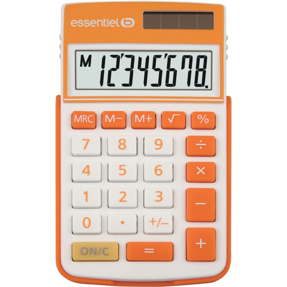 Calculatrice standard ESSENTIELB EC-12 Orange (photo)