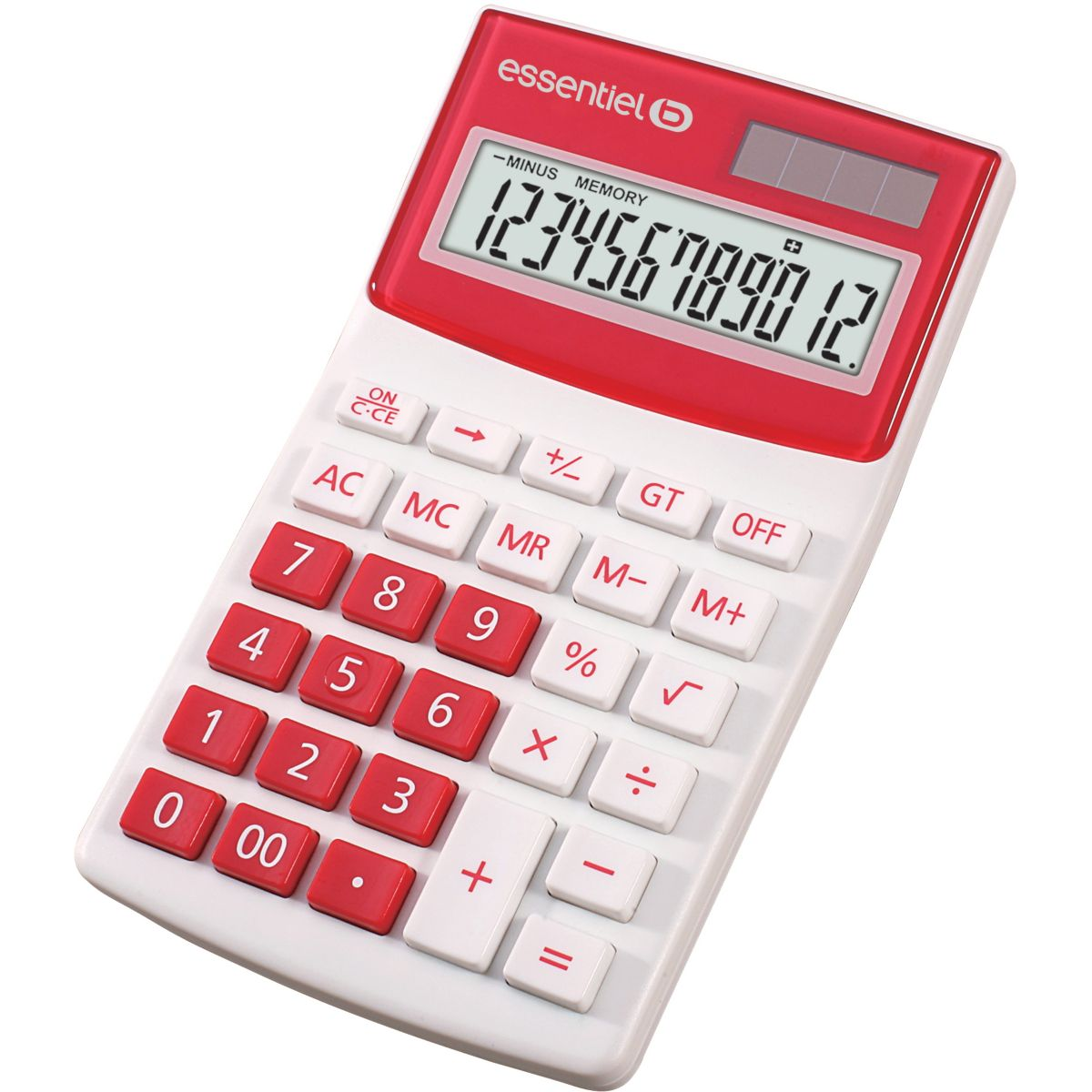 Calculatrice standard ESSENTIELB EC-12 Rose (photo)