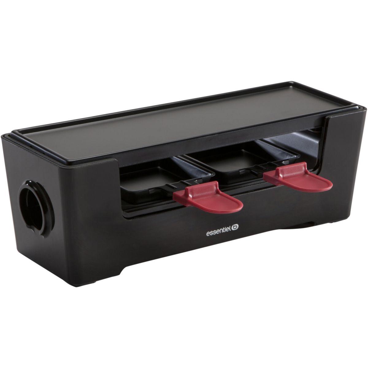 Raclette ESSENTIELB Multiplug Noire