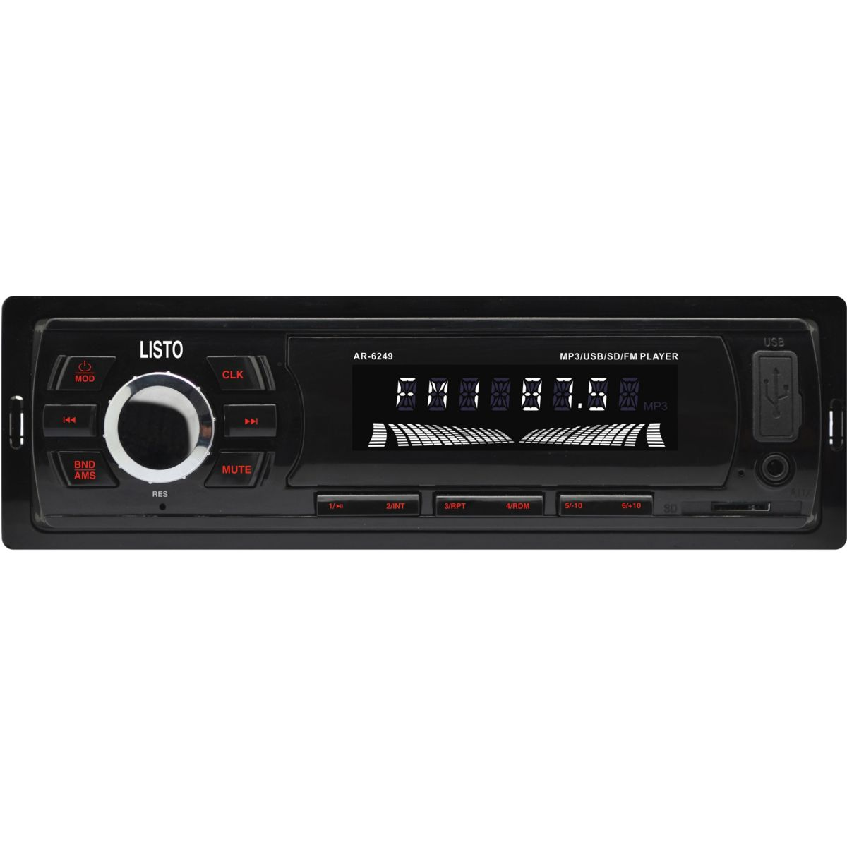 Autoradio MP3 LISTO ATR-501 (photo)