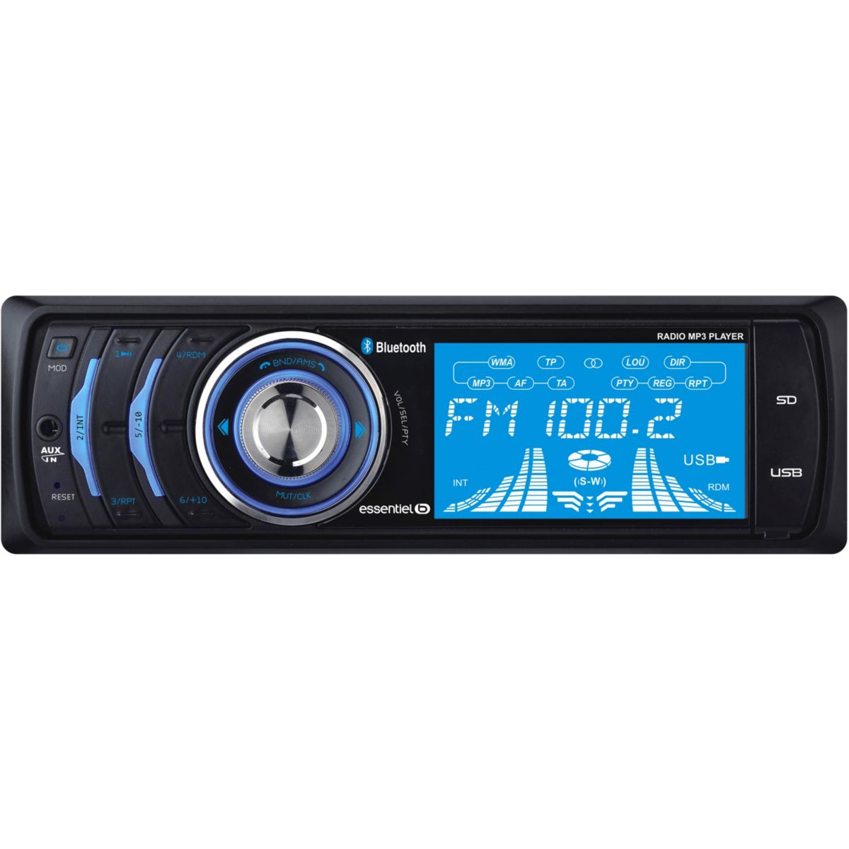 Auto-Radio ESSENTIELB CR-1291 Bluetooth (photo)