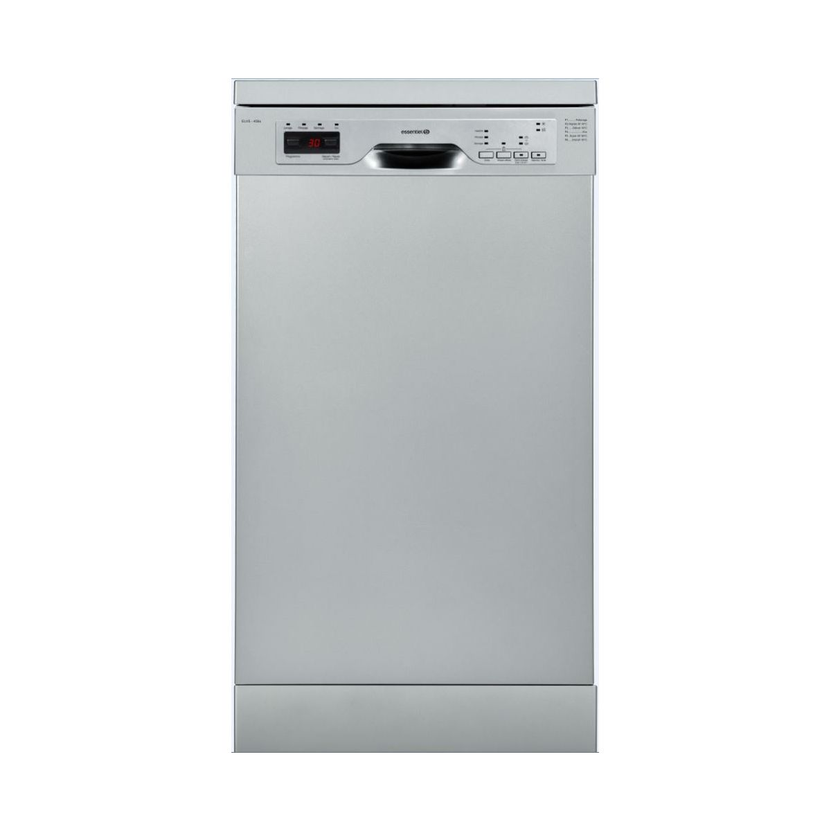 Lave vaisselle 45 cm ESSENTIELB ELVS-456s