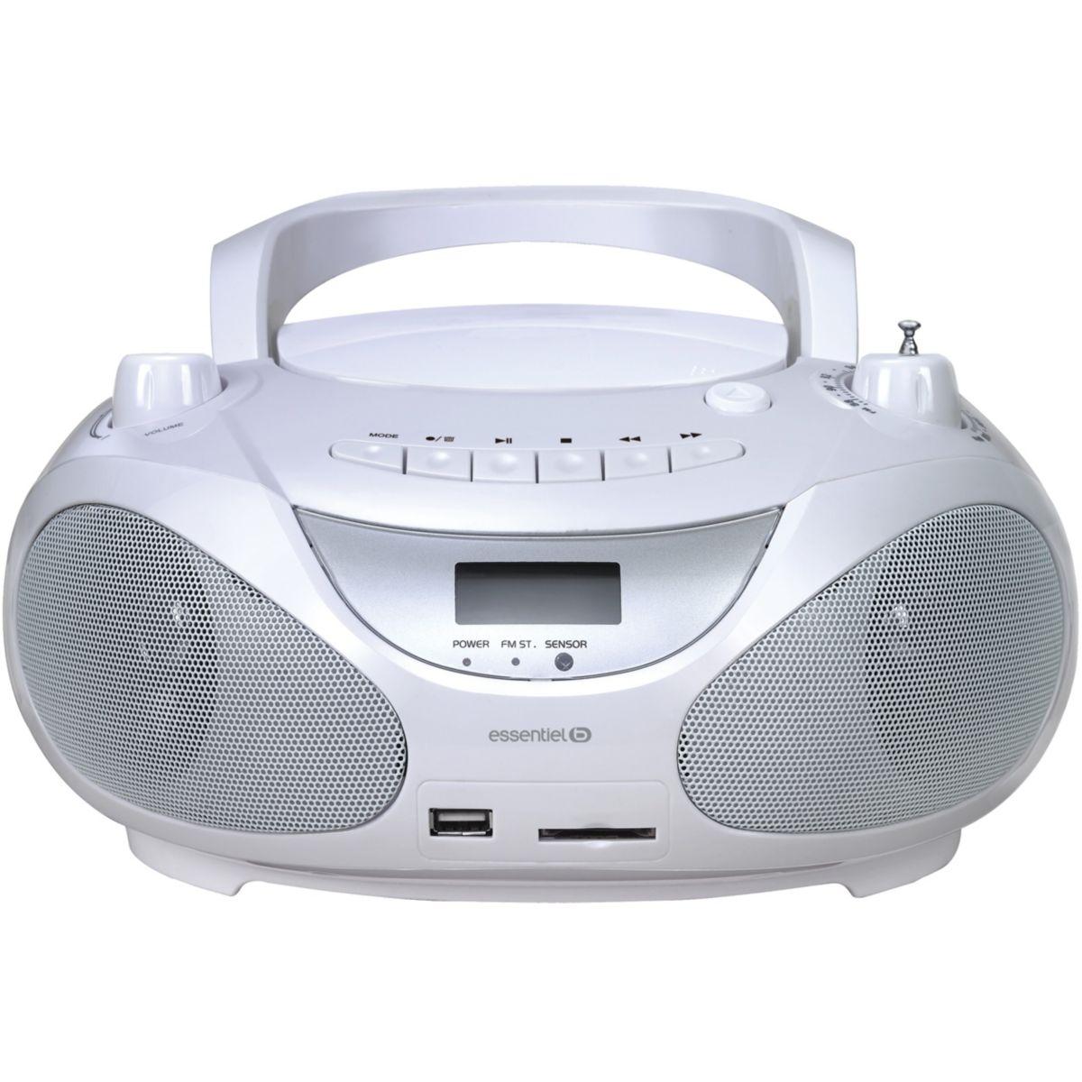 Radio CD ESSENTIELB Salsa encodeur MP3 / Bluetooth