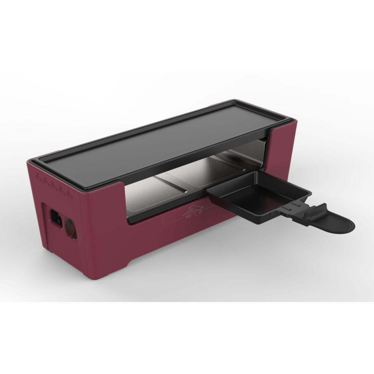 Raclette ESSENTIELB Multiplug rouge