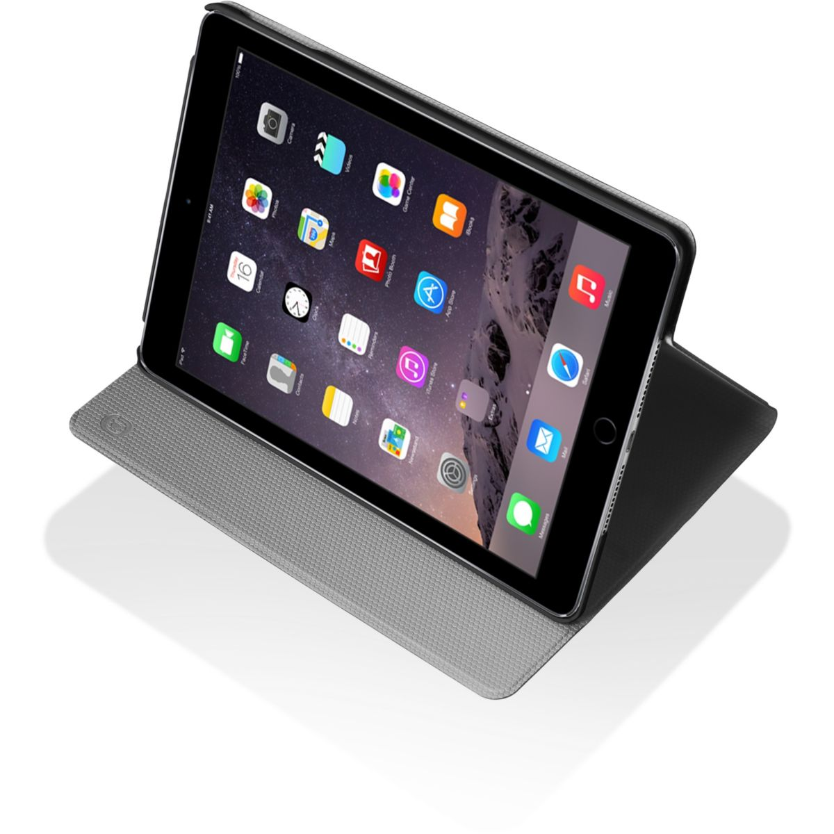Etui ESSENTIELB iPad Air 2 Stand noir (photo)