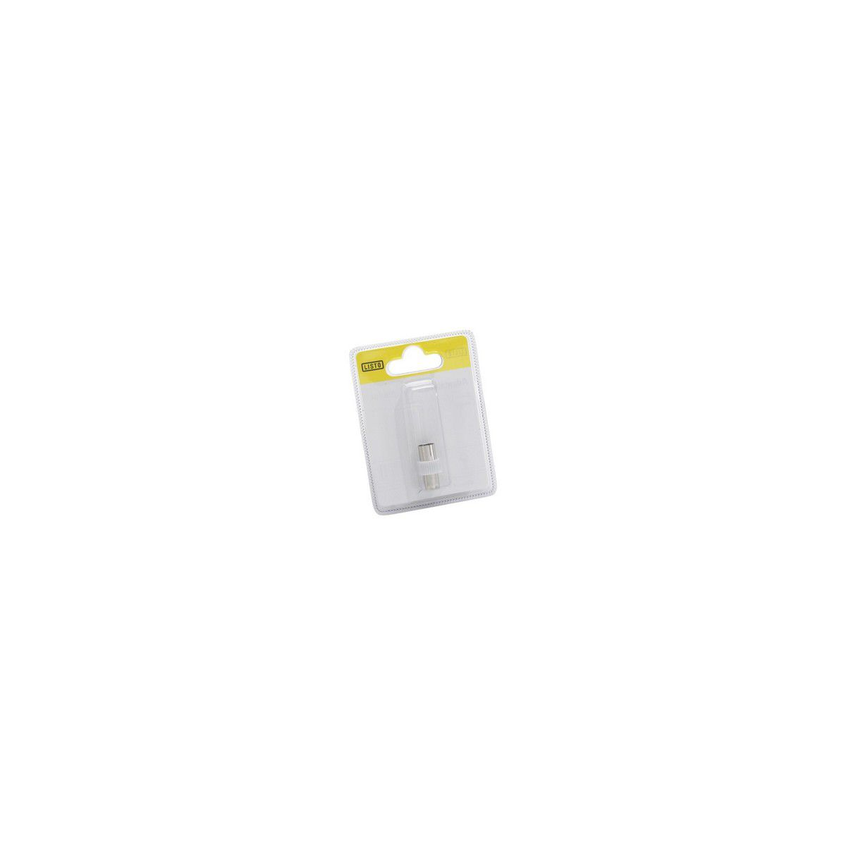 Adaptateur SC Coax M 9mm/Coax F 9.5mm (photo)