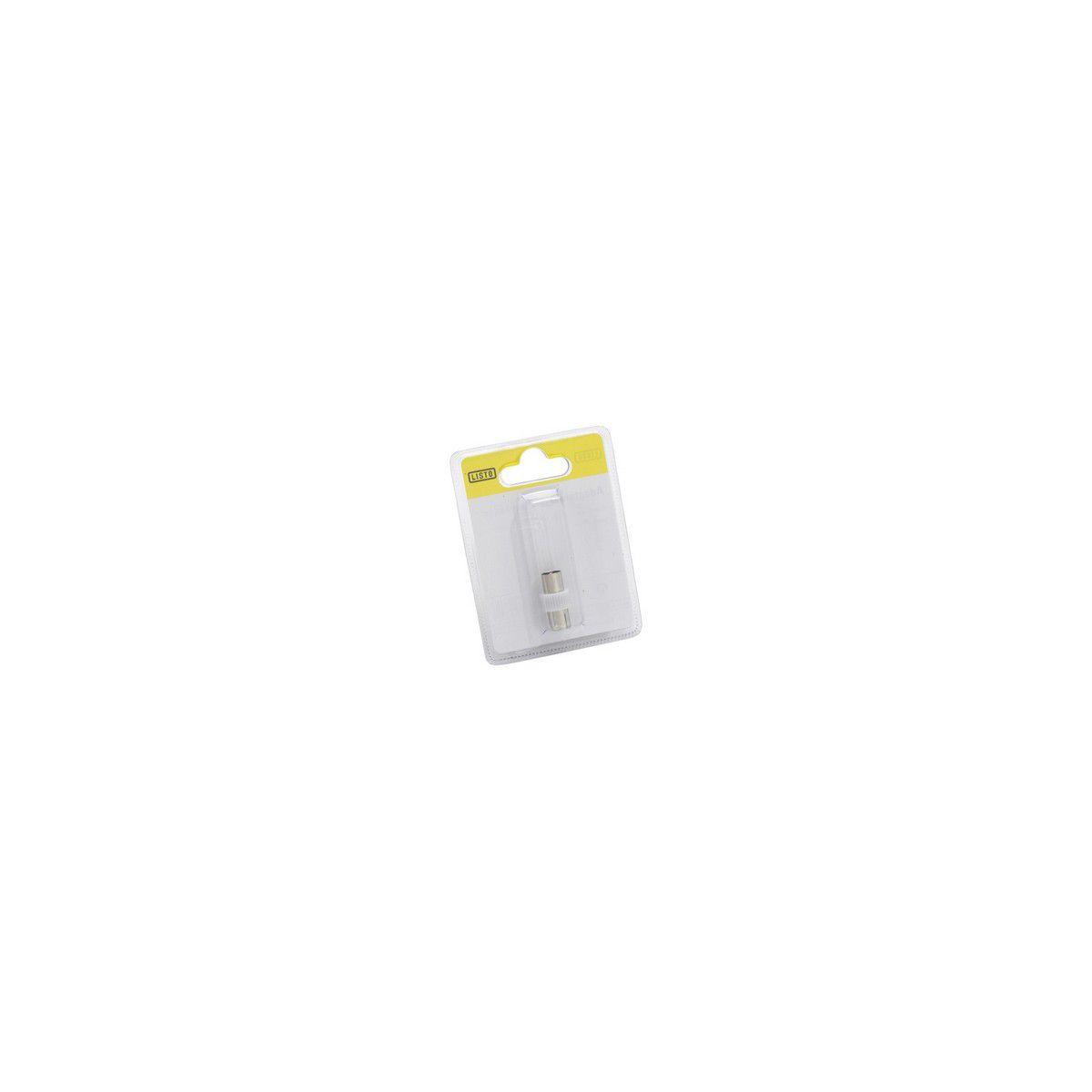 Adaptateur SC Coax M 9.5mm/Coax F 9mm (photo)