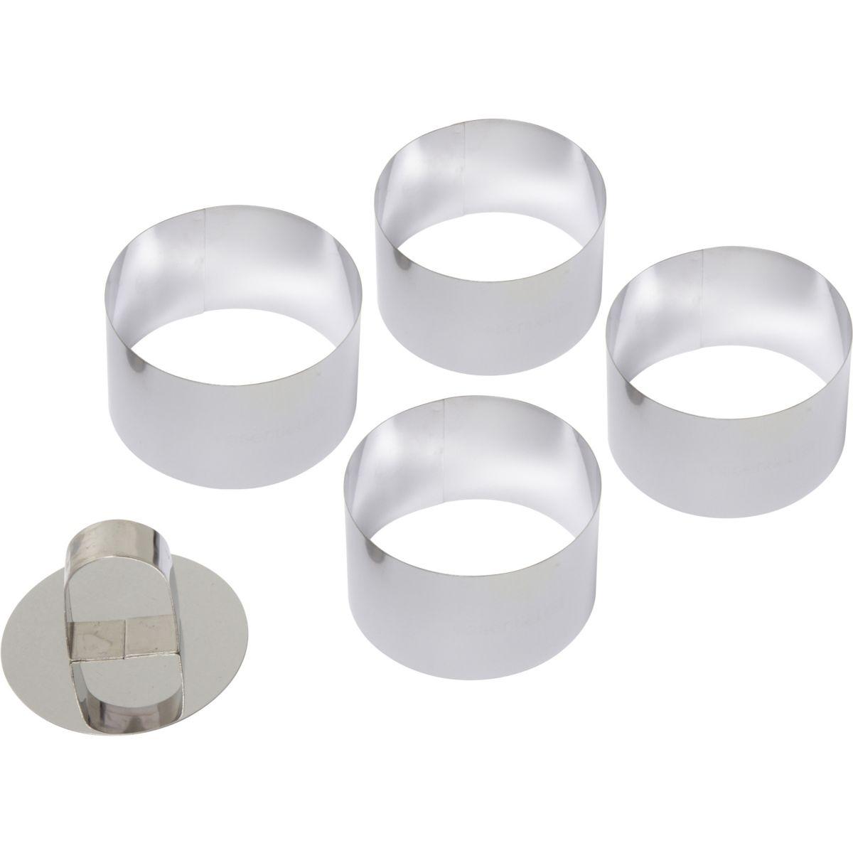 Coffret ESSENTIELB 4 cercles métal Ø 7.5 (photo)