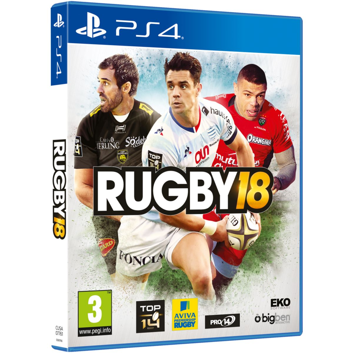 Jeu PS4 BIGBEN Rugby 18 (photo)