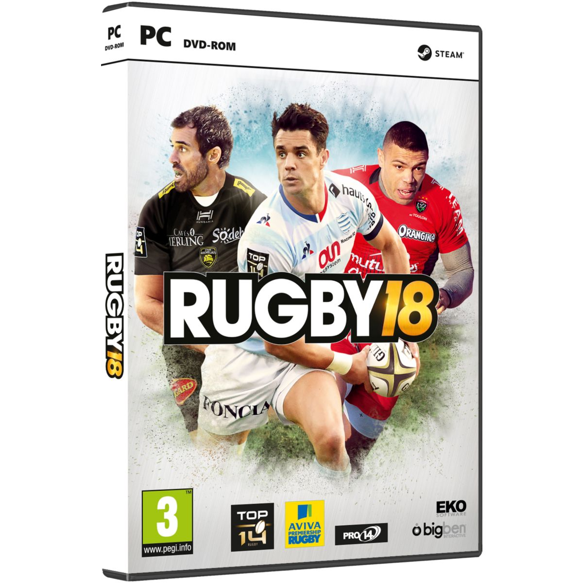Jeu PC BIGBEN Rugby 18 (photo)