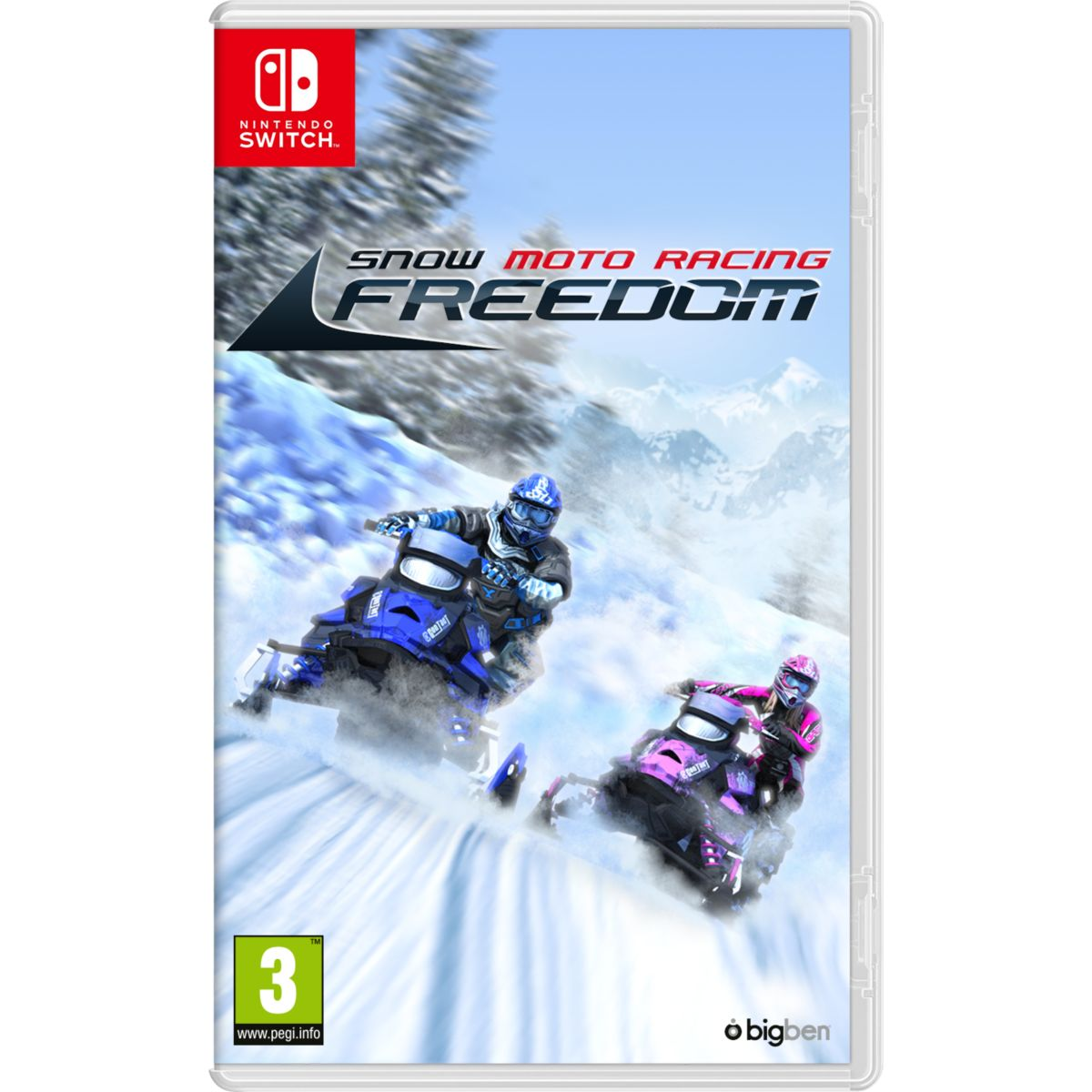Jeu Switch BIGBEN Snow Moto Racing Freedom
