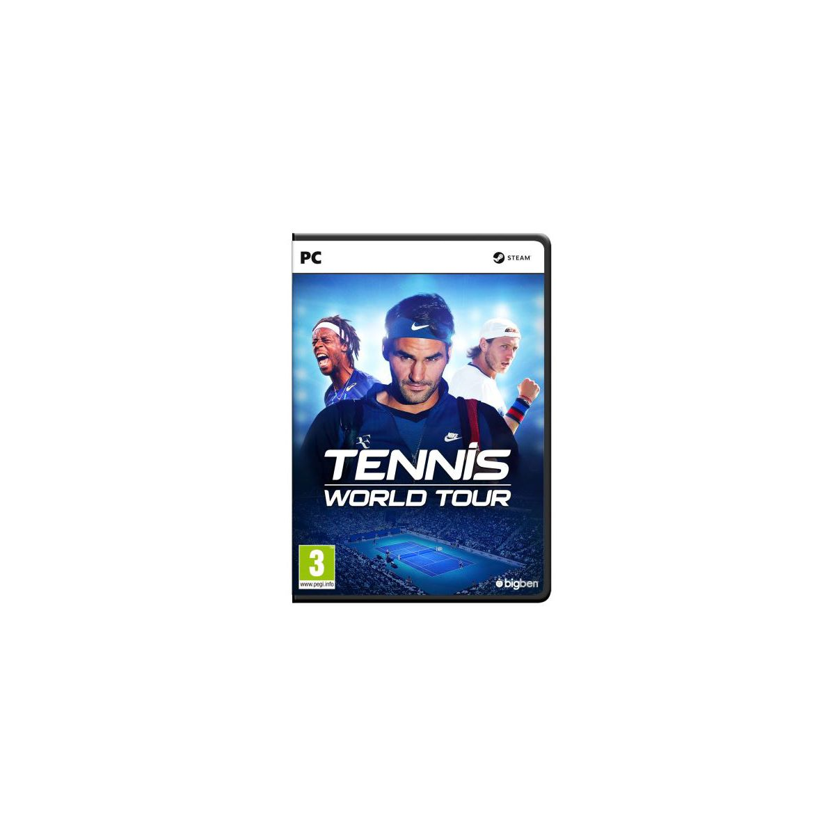 Jeu PC BIGBEN Tennis World Tour (photo)
