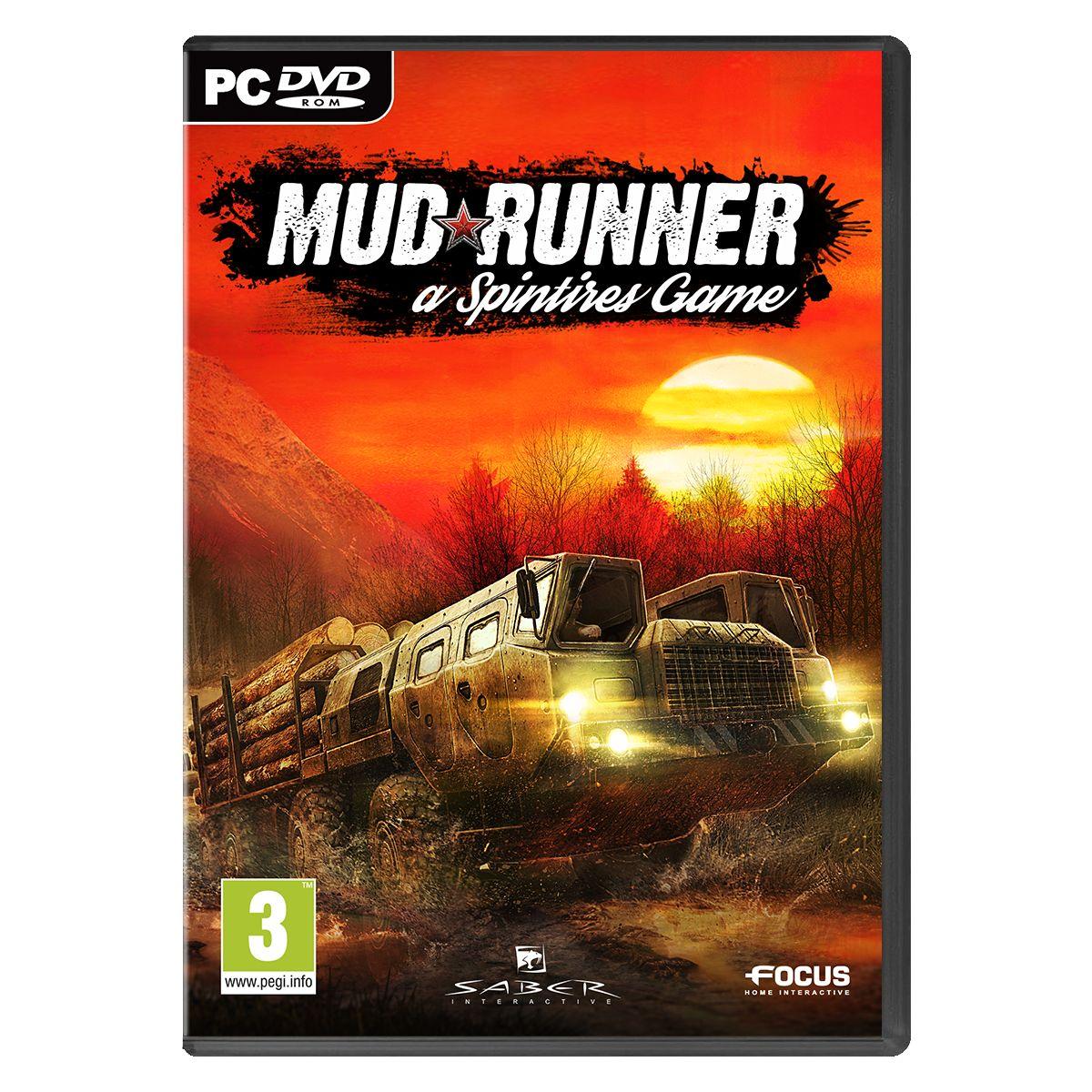 Jeu PC FOCUS Spintires: MudRunner (photo)