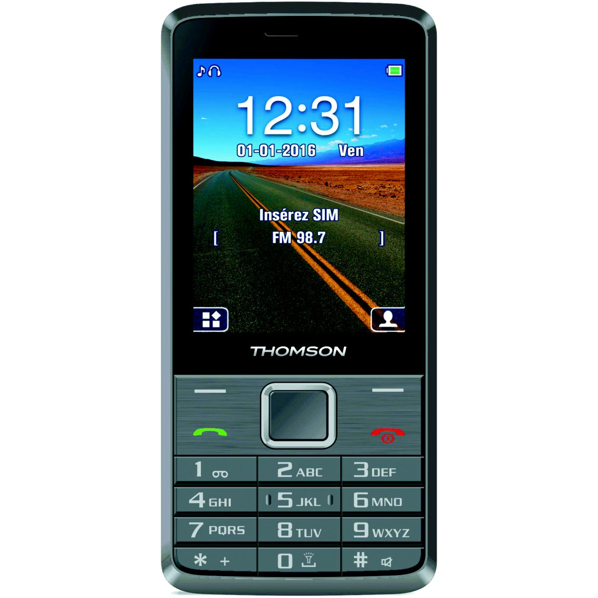 Mobile THOMSON Tlink 28+ Silver