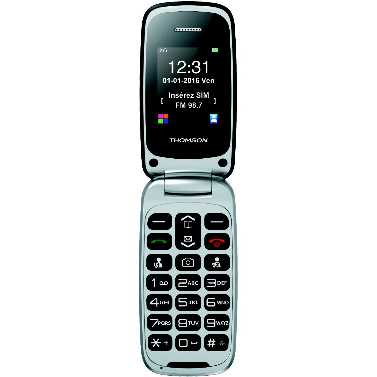 Mobile THOMSON Serea 61 Noir