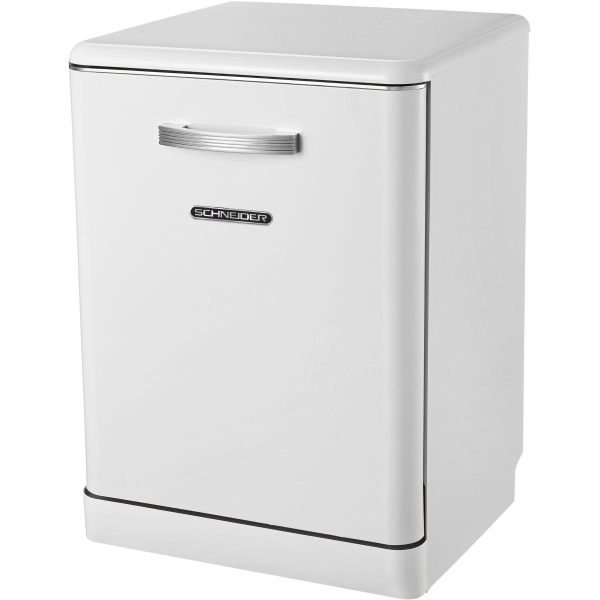 Lave-vaisselle 60cm SCHNEIDER SDW1444VW Vintage Blan (photo)