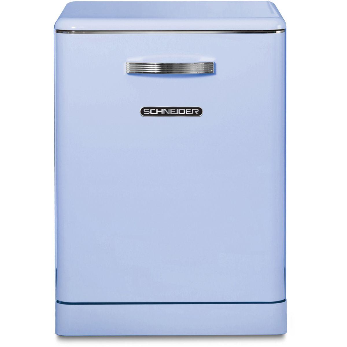 Lave-vaisselle 60cm SCHNEIDER SDW1444VBL Vintage ble (photo)