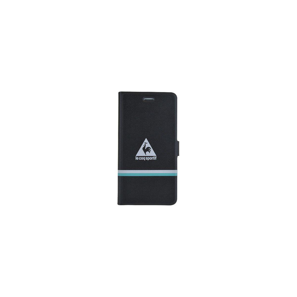 Etui COQ SPORTIF folio reverso iPhone 6/6s noir/turquoise