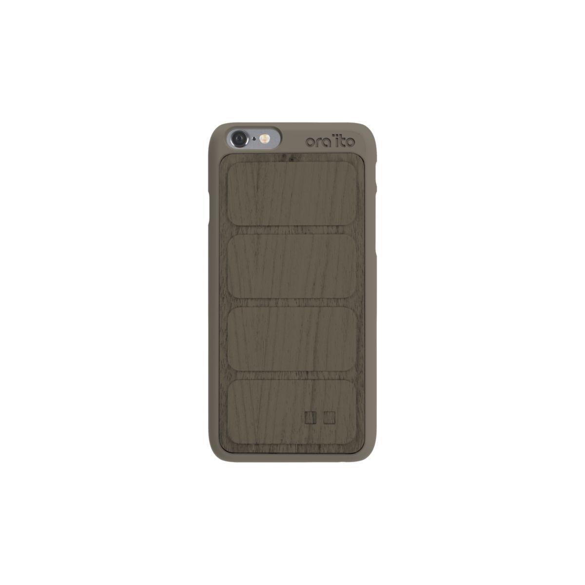 Coque ORA ITO iPhone 6/6s en bois gris