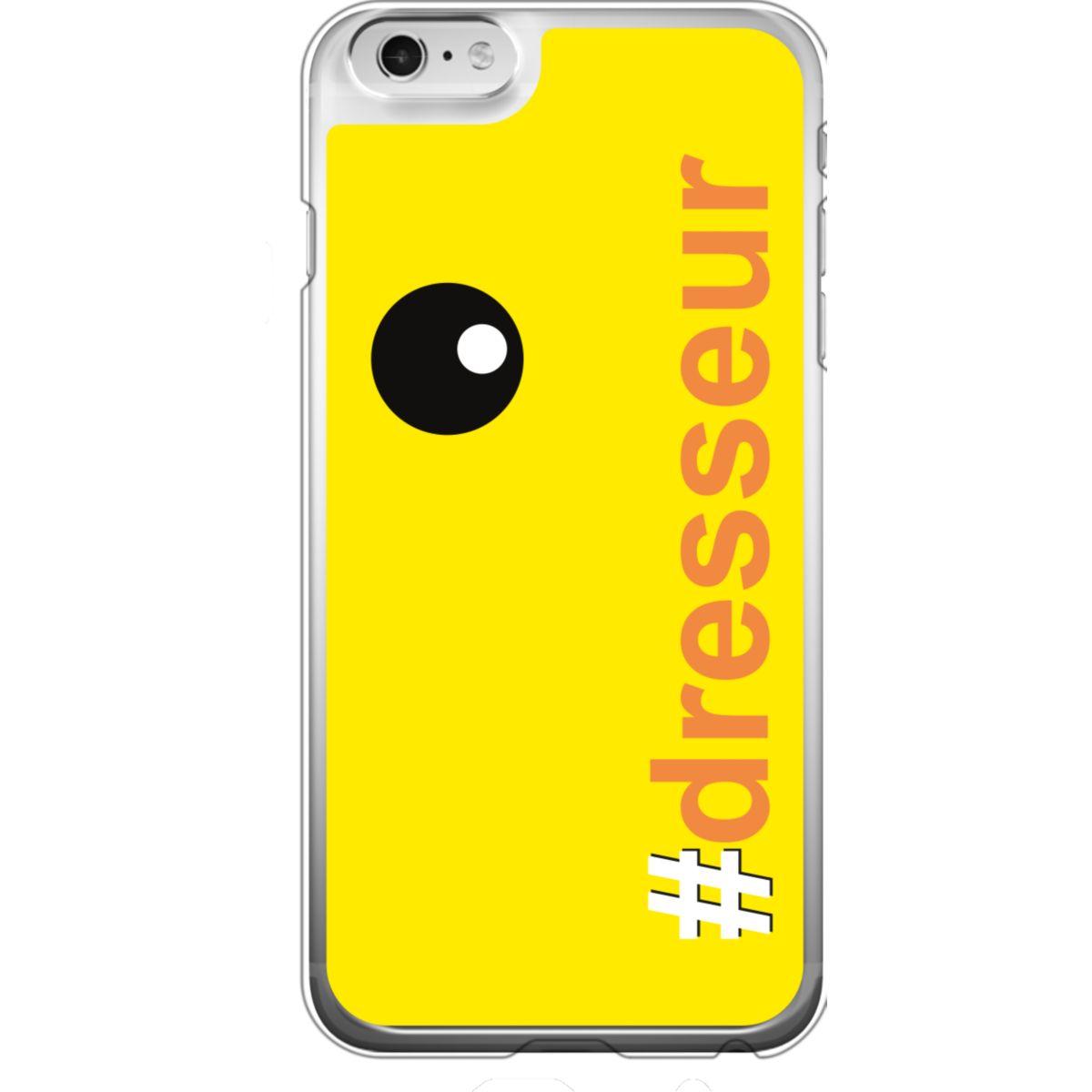 Coque BIGBEN iPhone 6/6S #Dresseur orange