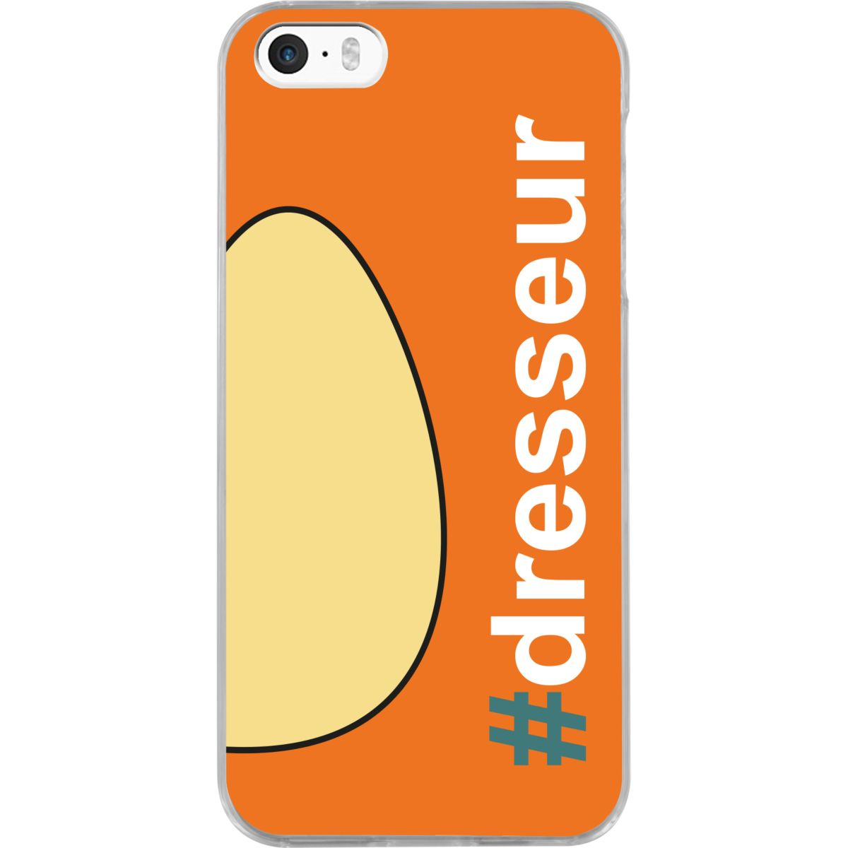 Coque BIGBEN iPhone 5S/SE #Dresseur Oeuf