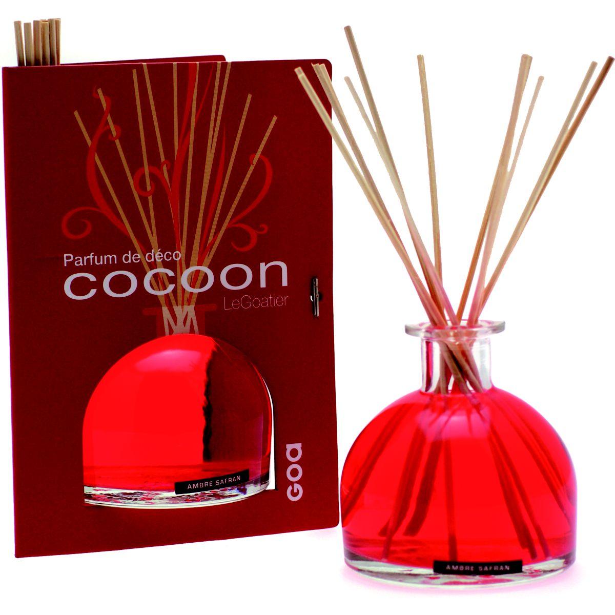 ACC. GOA Goatier Cocoon ambre safran (photo)