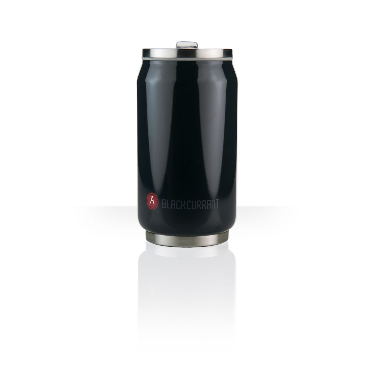 Mug isotherme LES ARTISTES Can'it noir brillant 28cl A-1802